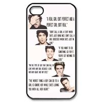 """Wholesale One Direction Iphone Black - One Direction 1D customized fashion design for iphone 6 case 4.7"""" plus 5.5"""" for iphone 4 4s 5 5s 5c Back cover case 001"""