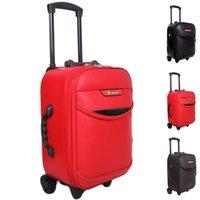 Wholesale Trolley Bags Sale - Hot Sale!!!Men Women Trolley Travel Bags Travel Suitcase Wheels Trolley Luggage Password Lock Boarding Rolling Luggage JO0019 Smileseller