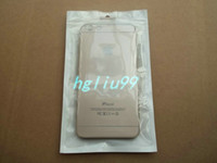 Wholesale S3 Cover Charger - 11*18cm clear white Zipper Plastic Retail Package Bag For Galaxy i9100 i9300 S3 4S Case Cover charger Packaging bag