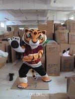 Wholesale Kung Fu Panda Mascotte - New Fashion Mascot tiger tigress Kung Fu Panda clothing Mascotte EPE