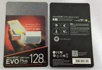 Wholesale Universal S - 16GB 32GB 64GB 128GB 256GB EVO+ Plus micro sd card U3 smartphone TF card C10 Tablet PC SDXC Storage card 95MB S