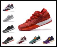 Wholesale Full Slip 46 - DHL 2016 men Crazylight Boost harden Basketball Shoes vol 1 low cut basketball shoe a full beard 9 colors Mens Sneaker 40-46 y3factory