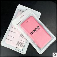 iphone deri kılıf perakende toptan satış-Evrensel Plastik Fermuar Perakende çanta Kılıfı paketi ambalaj çanta Deri Kılıf Kapak Iphone 8 7 5 S 6 6 S artı Samsung S6 kenar