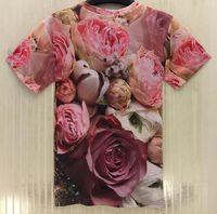 Wholesale Hot Model T Shirt - FG1509 Hot models new design for t-shirt new style men women Rihanna 3D t shirt short sleeve summer t shirt free shipping