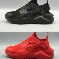 Wholesale design basketball shoes men sports - 2017 New Design Huarache IV Running Shoes For Women Men Lightweight Huaraches Sneakers Athletic Sport Outdoor Huarache Shoes36