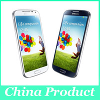 Wholesale Quad Core 2gb 3g - 100% Original S4 I9500 5.0'' Samsung Galaxy S4 Unlocked 13MP Camera 1920x1080 2GB 16GB Android 4.2 Quad Core 3G refurbished phone 002864