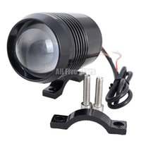 Wholesale Hot W CREE U2 U3 Motorcycle LED Spot Fog Light Waterproof Motorbike Headlight Super Lighting Flash Lamp Front Headlamp U2 LED Laser Light
