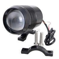 Wholesale Cree Motorbike Spot Lights - Hot 30W CREE U2 U3 Motorcycle LED Spot Fog Light Waterproof Motorbike Headlight Super Lighting Flash Lamp Front Headlamp U2 LED Laser Light