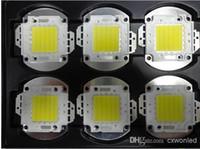 epistar 45mil led al por mayor-10W 20W 30W 50W Bombilla LED IC integrados Lámpara de luz Blanca Alta potencia LED Epistar 45mil Chips lámpara reflectora de inundación LED