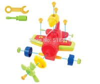 Wholesale Model Aircraft Propellers - Propeller aircraft dismantling educational toys for children toy vehicle car model