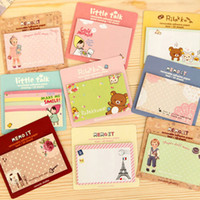Wholesale Full shipping Korea stationery fresh and lovely cartoon Meng things N times posted sticky paper notes Creative