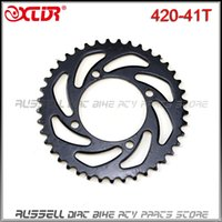Wholesale Bike Parts Sprocket - Rear chain Wheel sprocket Gear #420 - 41T Tooth 76mm FOR dirt Pit bike motorcycle ATV Quad accessories Parts
