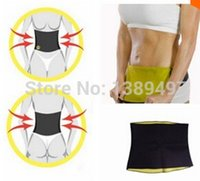 Wholesale Tummy Trimmer Waist Slimming - Free shipping New Arrivals Body weight loss waist cincher body trainer tummy trimmer neoprene slimming Belt ceinture minceur hot shapers tv