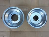Wholesale Big Atv - Wholesale-4-hole rims beach circle wheel rims steel wheels 19X7-8 inch inch big Bulls ATV 18X9.5-8