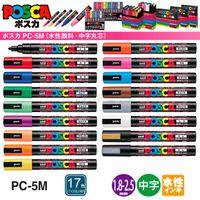 Wholesale Nib Painting - Wholesale-12pcs 2015 painting prens For MITSUBISHI posca PC-5M pop water-based pen doodle pen 17 colors uni posca markers Nib 1.8-2.5mm