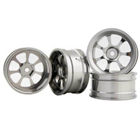 Wholesale rc car rims drift - RC Aluminum Wheel 4pc D:52mm W:26mm Fit HSP HPI 1:10 On-Road Drift Car Rim 107T