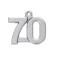 bilezik için numara çekicileri toptan satış-Ücretsiz nakliye Yeni Moda Kolayca diyete 1'den 100 cazibe Vintage sayılara yeni gelecek takı kolye veya bilezik için uygun hale getiriyor