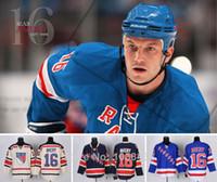хоккей на льду оптовых-Нью-Йорк Рейнджерс #16 Шон Эйвери трикотажные изделия, Оптовая высокого качества хоккей Джерси, все сшитые вышивка логотип имя, размер M-3XL