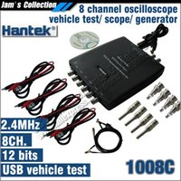 Wholesale New Hantek C USB CH Automotive Diagnostic Oscilloscope DAQ Program Generator quot MHz probe quot