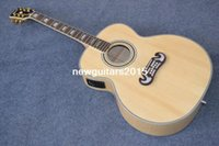Wholesale Guitar Acoustic Signature - 2015-Jumbo Acoustic Guitar Pete Townshend Signature Acoustic Guitar AAA Solid spruce Back   Side Tiger stripes Fishman mic
