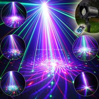 outdoor laser light garden waterproof 2018 - Wholesale- ESHINY Outdoor Waterproof IP67 RGB Laser 72 Patterns Projector House Party Xmas Tree DJ Wall Garden Landscape Light T102
