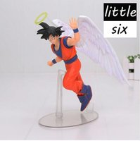 Dragon Ball Son Goku PVC Action Figure DRAMATIC SHOWCASE Angelo Goku Dragon Ball Z Modello Toy Doll Figuras DBZ Gokou
