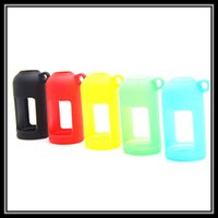 Wholesale Ecig Pouches - DHL Free Liquid Bottle Soft E-Cig Pouch Cover Silicone Protective Cover Case Colorful Soft Rubber Skin Protector for Ecig Bottles 15ML 30ML