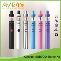 Wholesale Dhl Free Shipping Kanger Tank - Hot Selling 100% Authentic Kanger SUBVOD Starter Kit 1.9ml tank capacity DHL Free shipping Starter Kit