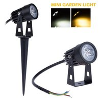 Wholesale 2015 New W Mini Waterproof Outdoor Led Lawn Garden Light DC12V V White Warm White With CE ROHS Approval For Garden Lawn Decoration
