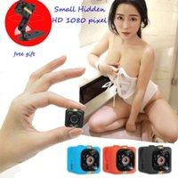 Wholesale Hidden Microphone Camera - SQ11 Full HD 1080P Mini Hidden DV Car DVR Camera Spy Dash Cam IR Night Vision Free Shipping
