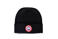 Wholesale Free Decks - Hot Fashion Caps Warm Autumn Winter Knitted Hats For Women Double-deck Skullies Men's Beanies 6 Colors