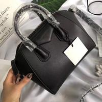 echte geldbörsen großhandel-Antigona Mini Tote Bag berühmte Marken Umhängetaschen echte Lederhandtaschen Mode Crossbody Tasche weiblichen Business Laptop Taschen 2018 Geldbörse
