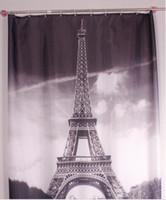 cortina de chuveiro de torre venda por atacado-Nova marca cool Torre Eiffel Cortina de Chuveiro de Banho à prova d 'água Prevenir mofo cortinas de tecido do dia das bruxas para o banheiro
