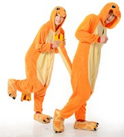 Wholesale Womens Onesie Pyjamas - Womens Mens Unisex Fiery dragon Jumpsuit Onesie Pyjamas Costumes Cosplay R015 S--XL