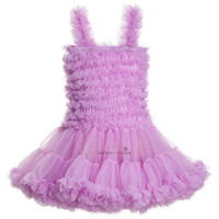 Wholesale Summer Clothing For Baby Girls - Baby Girls Tutu Dress For 2015 New Arrival Very Cut And Fashion Gallus Gauze Party Princess Dresses Flower Children Clothing Retail TR182