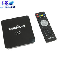 Wholesale Enigma Iptv - 10pcs Latest 2017 Powerful Zgemma i55 IPTV Box HDTV Linux Enigma 2 TV Box without account