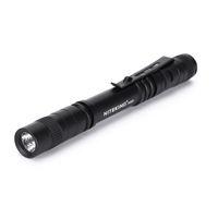 Wholesale mini led clip light - NITEKING P357 Mini Flash Light CREE LED Flashlight Belt Clip Pocket Torch Portable Flash Torch Lamps,Use AAA battery flashlight