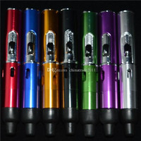 Wholesale Online Metals Store - Smoking Accessories Metal Lighters Herbal Vaporizer Wind Proof Torch Smoking Lighter Portable 7 Colors 5 Inch Mini Oil Lighter Store Online