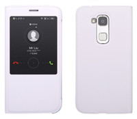 Wholesale G7 Window - Huawei G8 Cases View Window Flip Cover Back Case for Huawei G8 G7 Plus D199