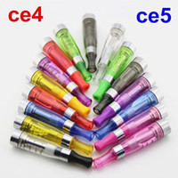Wholesale Ego Ce4 Clearomizers - Electronic Cigarette Ego Ce4 Ce5 atomizer atomizers clearomizer for e cigarette cigarettes battery e cig cigs clearomizers ecigarette