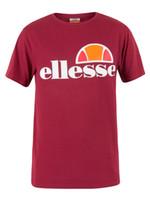 Wholesale Graphic Designs T Shirts - Ellesse Men's Prado Graphic T-Shirt, Red 2018 New Fashion Brand Clothing Cotton Cool Design 3D Tee Shirts
