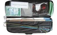 Wholesale open locksmith kit resale online - KLOM Auto Quick Open Kit cross pick lock Pick Gun key reader Lock Pick Set unlock tool Locksmith Tool open reader