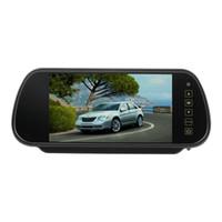 """Wholesale Backup Monitor Mirror - New 7"""" LCD Car Rear View Backup Parking Blue Mirror Monitor + Camera Night Vision hot selling"""