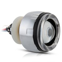 "Wholesale Ccfl Car Headlights - New coming HID Headlight CCFL Angel Eye Projector Lens Kit 6000K 35W 2.5"" Car Bi-Xenon"