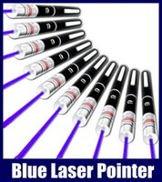 Blue Laser Pointer Pen Beam Light 5mW Professional Lazer High Power 405nm Livraison gratuite