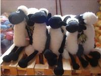 Wholesale Shaun Sheep Timmy - Free shipping 1pcs 2015 Shaun the sheep cute plush toy Dolly the sheep lamb doll dolls little Timmy doll