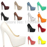 Wholesale Ladies High Heels Size 11 - Wholesale-WOMENS CONCEALED PLATFORM PUMPS LADIES STILETTO HIGH HEELS COURT SHOES USA SIZE 4 -11