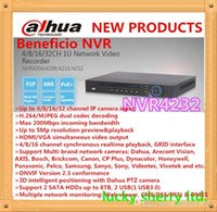 Wholesale Pc Easy Access - Original English firmware NVR4232 DAHUA 32CH NVR 5MP 3MP 1080P NVR VGA+HDMI OUTPUT Onvif Network Video Recorder Easy Access PC And Mobile Vi