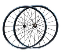 Wholesale Taiwan Bike Wholesale - Taiwan KinLin XR-300 Clincher Cycling Wheels Road Bike Wheelset Alloy Bicycle Wheel Powerway R13 Hub Pillar 1432 or Mac cn494 Aero Spokes
