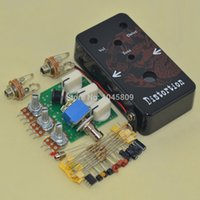Wholesale Diy Kit Guitars - DIY Guitar Distortion Pedal   Guitar Effect Pedal Distortion   Distortion Pedal Kit